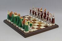 9959504 Porzellan Figur Schachspiel Ernst Bohne Rudolstadt