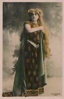 Marcelle Demougeot Real Photo Reutlinger Postcard - French Opera Singer
