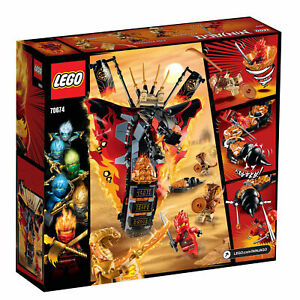 LEGO Set 70674 Ninjago Fire Fang Snake Masters of Spinjitzu 463 Pieces New