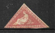 CAPE OF GOOD HOPE 1855-63   1d  DEEP RED  ROSE    MNG  SG5B