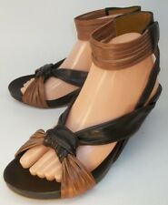 Everybody B.Z. Moda Womens Shoes PANZANO EU 40 Brown Leather Ankle Strap Sandals