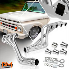 For 80-96 Ford F100-F350/Bronco 5.0 V8 Stainless Steel Long Tube Exhaust Header