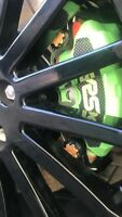 Ford,mk2 focus Rs,carbon Fibre,front brake,calliper Plate