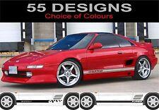 Toyota MR2 Pegatina de raya lateral para Toyota MR2 diseño a elegir