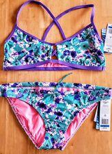 NWT Speedo Missy Franklin Endurance Floral Dreams Bikini Swimsuit 2pc XL Womens