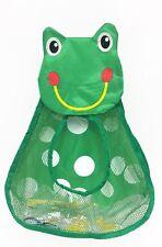 Niños Bebé Baño ordenado juguete de almacenamiento Organizador De Bolsa De Rana ventosas Copa Verde