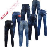 Mens Replay Jean   Anbass & Waitom Fit   Slim Fit / Regular Fit - Replay Denim