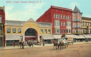 Temple Theater in Geneva NY 1914
