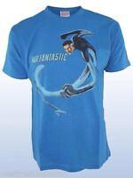 T-Shirt Maglietta Uomo Marvel Mr Fantastic Originale H&W C109 Tg L