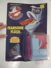 Vintage 1984 The Real Ghostbusters Fearsome Flush toy by Kenner