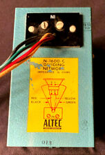 Altec Lansing 16 ohm N-1600-C Dividing Network -Tested-Usa-Matches Altec 604