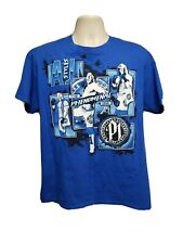 AJ Styles The Phenomenal One 10 years of TNA Adult Large Blue TShirt