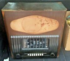 More details for vintage wooden and bakelite valve radio - murphy ta 92 - restoration project