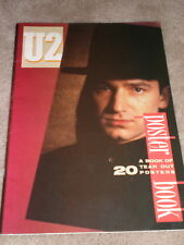 U2 Poster Book 1987 20 tear out posters