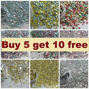 Chunky Glitter Mix Cosmetic POTS Face Eye Body Festival Club - BUY 5 GET 10 FREE