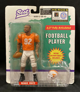 Best Card Co. Heroes of the Gridiron Reggie White Action Figure