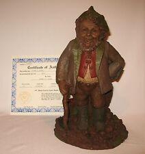 Tom Clark Gnome HYKE (Short Stick) Ed. 87 1984 Signed with COA