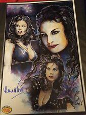 LANA WOOD Print SIGNED LW  & CK Artist LCC Lmtd Ed 150 Bond007 Playboy