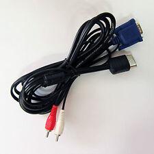 Nouvelle marque haute définition hd Dreamcast boîte de câble VGA pour DC son audio stéréo