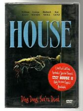 USED DVD set, HOUSE & HOUSE 2, Limited Edition. (Only 20,000 issues). RARE! NICE