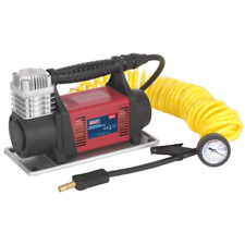 MAC06 Sealey Mini Air Compressor 12V Heavy-Duty [Tyre Inflators]