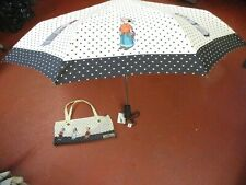 umbrella NEW pop-eye olive oil MOSCHINO with case