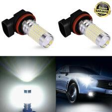 2X H11 144 SMD LED Nebelscheinwerfer Tagfahrlicht Xenon Weiß Birnen Canbus Lampe