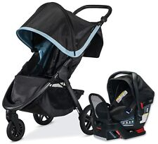 Britax B-Free Travel System Stroller with Endeavours Infant Car Seat Frost NEW