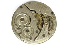 New York U.S.A pocket watch movement for parts/restore