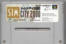 Video Game - Nintendo Super Famicom SIM CITY 2000 Loose
