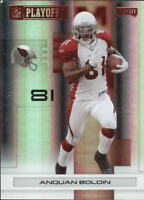 2007 Playoff NFL Playoffs Red Holofoil Football Card Pick
