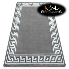 "MODERN amazing stylish RUG 'HAMPTON"" Greek grey Best-Carpets nice in touch"