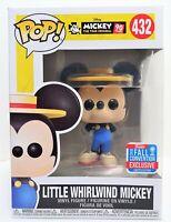 Funko Pop Little Whirlwind Mickey # 432 Disney Mickeys 90th NYCC Exclusive