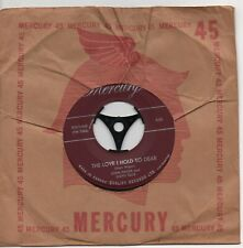 JOAN HAGER*LLOYD ELLIS the love i hold so dear*steel guitar rag 1953 CAN MERCURY