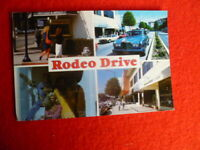 '90S  RODEO DR BEVERLY HILLS CALIFORNIA  POSTCARD PRINTED IN USA
