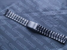 SEIKO 18mm STAINLESS STEEL WATCH STRAP CURVED ENDS B1680.E