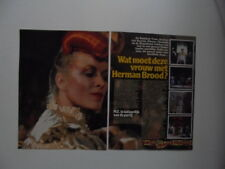 Dianne Marchal Rainbow Train Houseband Vitesse clippings Holland