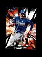 2018 Topps Fire #109 Ronald Acuna Jr RC Atlanta Braves *3508