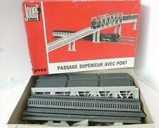 JOUEF   réseau  HO PASSAGE SUPERIEUR avec pont  complet en boite