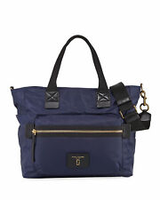 Marc Jacobs biker Nylon baby bag Diaper bag navy Blue $295
