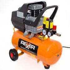 Druckluftkompressor 1100 W 1,5 PS 24 Liter Kompressor mit Öl Druckluft Werkstatt