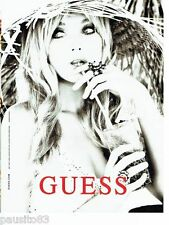 PUBLICITE ADVERTISING 116  2011   Guess  By Marciano par Ellen Von Unwerth