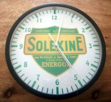 Horloge / Pendule Murale Ø 20cm Motif Décoration Solexine Solex Tour Noir (Neuf)