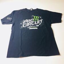 Fox Racing Monster Energy Pro Circuit Kawasaki Tee Black T-shirt Motocross Large