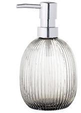 Bloomingville Seifenspender Glas grau Pumpspender dänisch Design