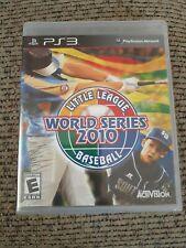 Little League World Series Baseball 2010 (Sony PlayStation 3) PS3 Activision NIP