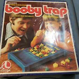 Vintage 1975 Sealed Lakeside Booby Trap Game Complete