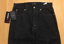 Men's AJ Armani Jeans J31 Indigo Blue Denim Regular Cotton 06J31 W30 L34 BNWT