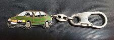 BMW 6er 7er Schlüsselanhänger Keyring grün metallic Maße Fahrzeug 57x25mm