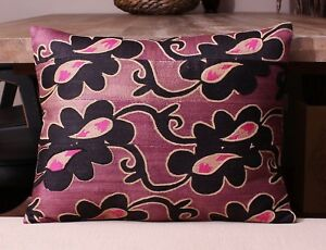 """14.17"""" x 18.11"""" Pillow Cover Suzani Pillow Vintage FAST Shipment With UPS 11411"""